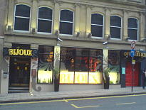 Bijoux Newcastle Drinks Menu